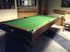 REDUCED POOL TABLE