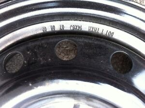 14 inch Rims  4x108 Bolt Pattern  Kawartha Lakes Peterborough Area image 5