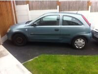 Vauxhall corsa for sale 05 plate