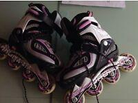 SFR Bronx Roller Blades Skates Adjustable Sizes Junior 12-2