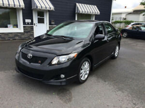 Looking for 2009/10 Toyota Corolla S