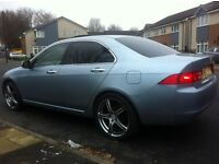 "LOOK 2004 HONDA ACCORD 2.0 V-TEC DOHC HONDA SERVICE HISTORY BACK WINDOWS TINTED 19""ALLOYS PX SWAPS"