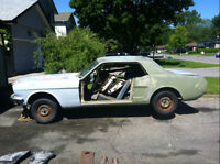 1966 MUSTANG PROJECT CAR