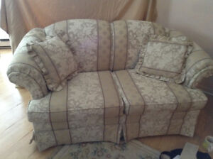 two love seats great condition moving they have to go