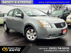 2009 Nissan Sentra FE+ | NEW TIRES | 198Km | SAFETY & E-TESTED