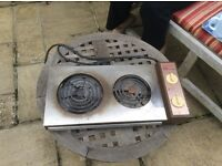 Table top cooker hob