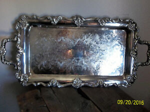 new price-BEAUTIFUL PIECE-ANTIQUE SERVING TRAY