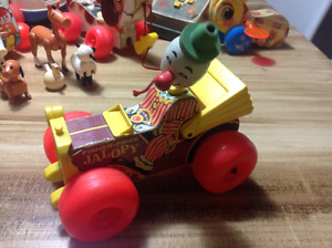 Jouets vintages Fisher Price (lot)