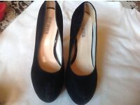 Jiaslawhua ladies heels shoes size 3/36 used £2