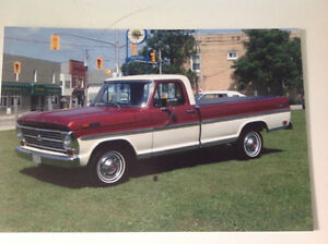 1968 Ford F100 Ranger Truck: Excellent