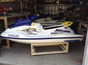 Excellent Condition 1998 Sea Doo GS 720 New Motor