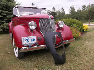 """1936 Ford kustom New Old Stock grille shell  """"Pines Winterfront"""" London Ontario image 3"""