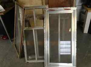 Assorted windows from camper