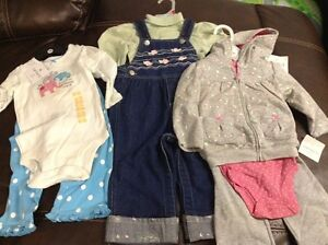 Brand new three sets clothes tag on