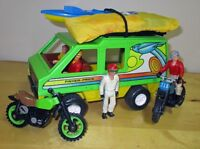 1970's Fisher Price..¨ADVENTURE PEOPLE¨ SPORT VAN + ACCESSORIES¨