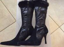2 Pairs of Boots **1 Black Pair & **1 Brown Pair BOOTS Ferryden Park Port Adelaide Area Preview