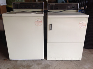 Free to Good Home GE Medallion 850 Heavy Duty Washer & Dryer