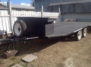 Flat deck trailer for sale