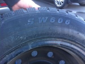 Honda SUV snow tires and rims....for sale