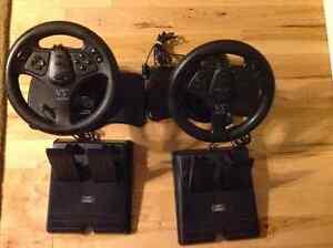 N64 Nintendo PlayStation V3 Interact Racing Wheels