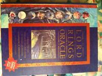 LOTR divination,tarot cards, and dragon books with blank pages