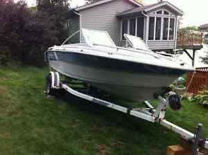 Ezy loader Boat trailer for Sale comes with 17.5 ft Larson Kawartha Lakes Peterborough Area image 2