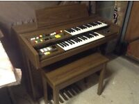 Yamaha A55 Electone double keyboard