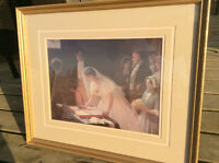 Print in beautiful frame - Signing the Register
