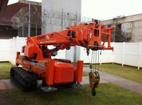 Mini Crane Service Available for Rental