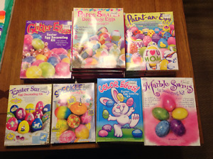 Lot of 20 Easter Egg Decorating Kits