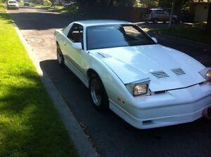 Transam gta Pontiac 1989