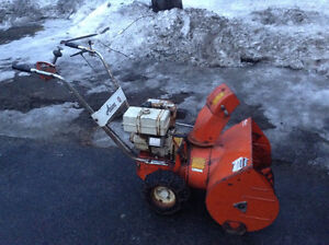 2 Snowblowers complete, don't run 140 for both or best offer