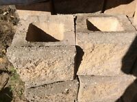 In search of used retaining wall blocks