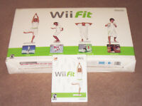 NEW BUT NEVER USED BOXED WII FIT BOARD+GAME