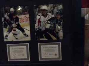 Sidney Crosby/Alexander Ovechkin Autographed Frame