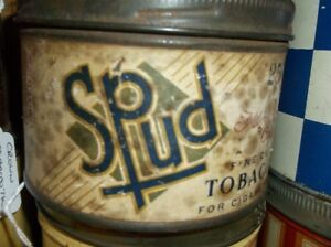 SPUD TOBACCO TIN