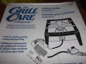 New Grill Care Propane Outdoor Cooker