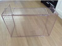 Safety fire guard extending Folds flat when not in use. New unused ,
