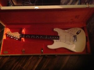 Fender Jeff Beck signature stratocaster olympic white