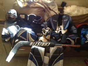 I'm selling my old goalie gear for 400 obo