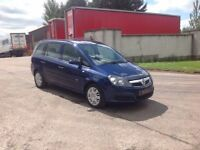 24/7 Trade sales NI Trade Prices for the public 2008 Vauxhall Zafira 1.6 Life Blue 7 Seater