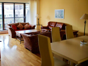 De-luxe condo, 51/2, apartment for rent furnished or not