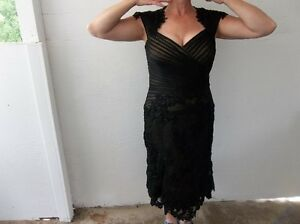 Black Sequined Dress