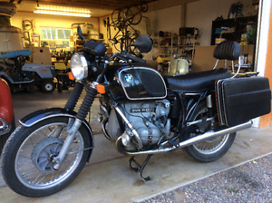 1975 BMW R60/6 Airhead Motorcycle