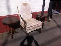 Antique armchair / nice n firm