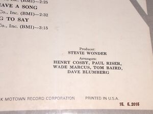 STEVIE WONDER: ALBUMS Kitchener / Waterloo Kitchener Area image 4