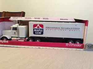 Maple Leaf Meats toy tractor trailer truck
