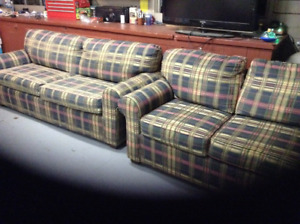 REDUCED Sofa and love seat set