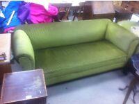 Victorian Drop end sofa + tub chair