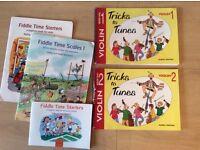 Violin books - for beginner/child